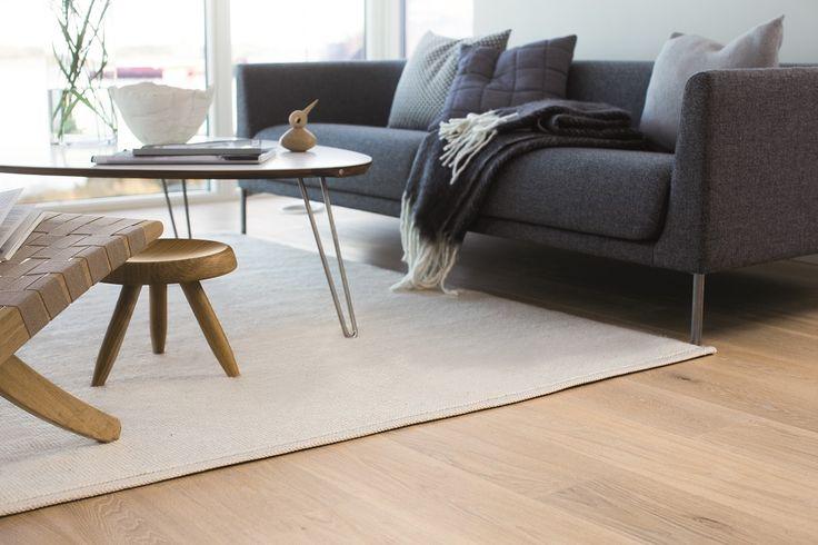 A clear and purist design. BOEN Parkett.
