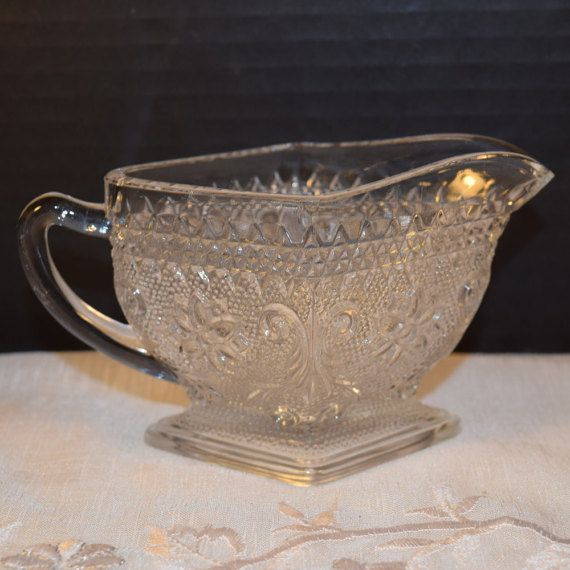 26 best sandwich glass pattern images on pinterest for Most valuable depression glass patterns