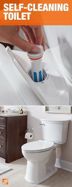 Treat your bathroom to the freshest flush ever engineered. The VorMax Plus from American Standard is a self-cleaning toilet that freshens the bowl with every flush. Lysol and the uniquely powerful VorMax® flush hydraulics, do all the hard work for you. Click to shop this always-clean toilet.