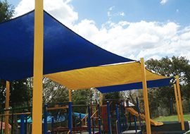 Playground shade covers and waterproof shade sails are made to provide protection against sun and rain. Instaco has a wide range of shade covers & waterproof shade sails for playgrounds, schools and public spaces.  View more at http://www.instaco.com.au/shade-structures