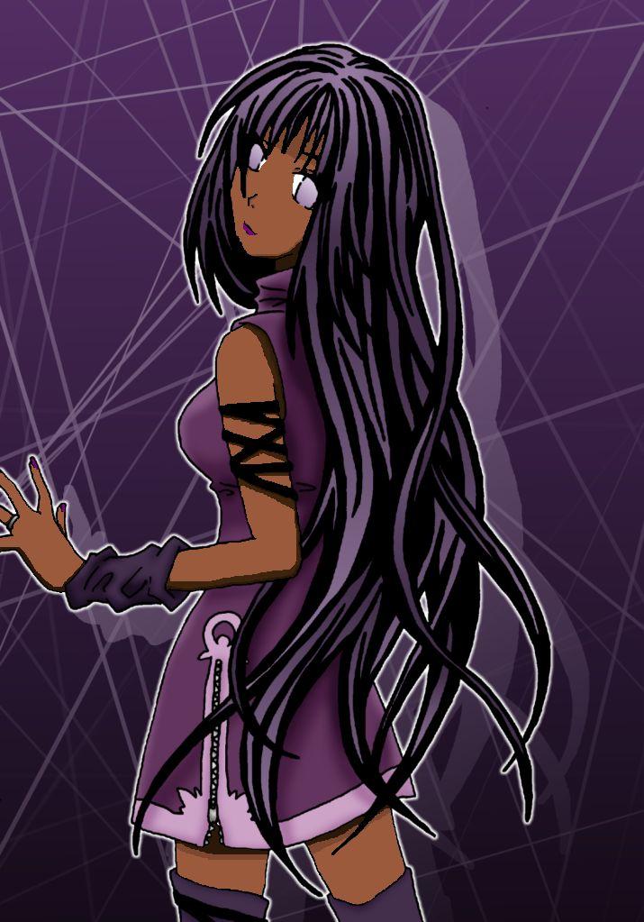 anime girl | Black Anime Emo Girl by HiyumiHyuuga on deviantART