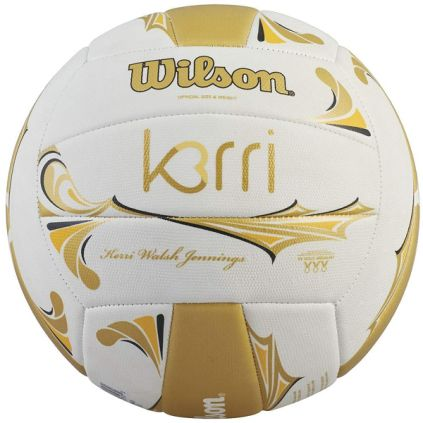 Wilson Kerri Walsh Volleyball - White/Gold