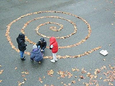 ds idées de sorties land art avec des enfants