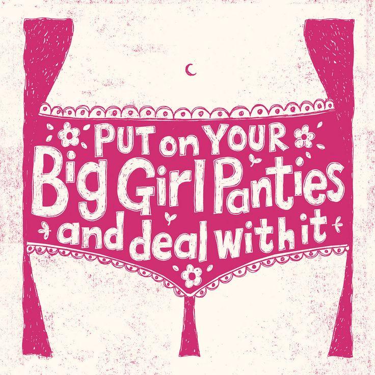 Big girl panties : ) | by Alexandra Snowdon