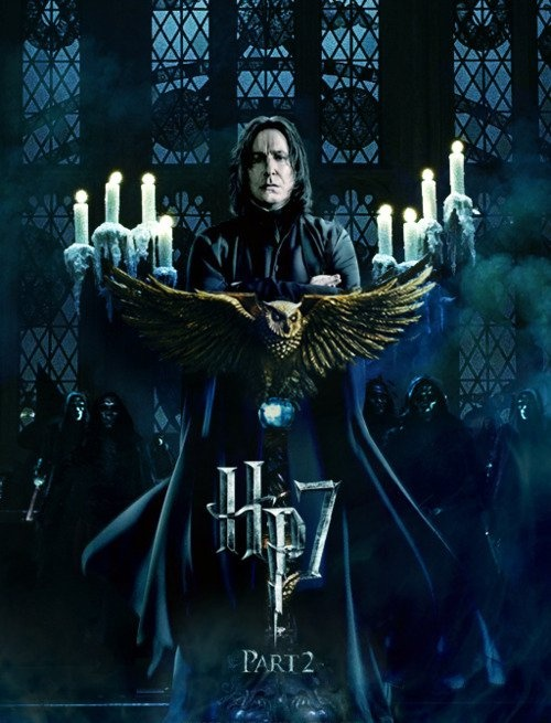Snape was by far my favorite character. I like him from the beginning but in the end you just admire his character even more.