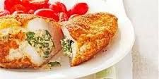 Spinach-Stuffed Chicken Pockets Recipe | Taste of Home