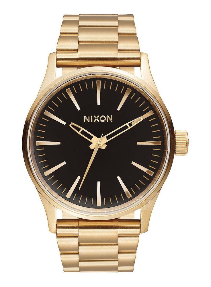 Reloj Nixon Sentry 38 SS Gold / Black Sunray - Relojes - Accesorios - Trakan