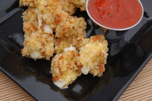 Baked Wisconsin Cheese Curds. Photo by akarapas