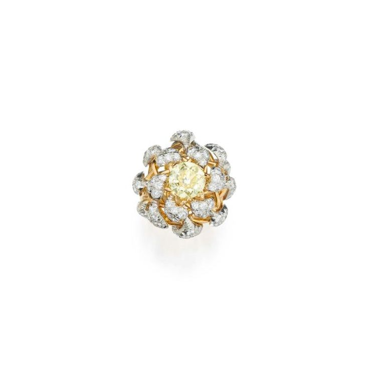 Buy online, view images and see past prices for FANCY INTENSE YELLOW DIAMOND AND DIAMOND RING, SCHLUMBERGER FOR TIFFANY & CO., FRANCE. Invaluable is the world's largest marketplace for art, antiques, and collectibles.