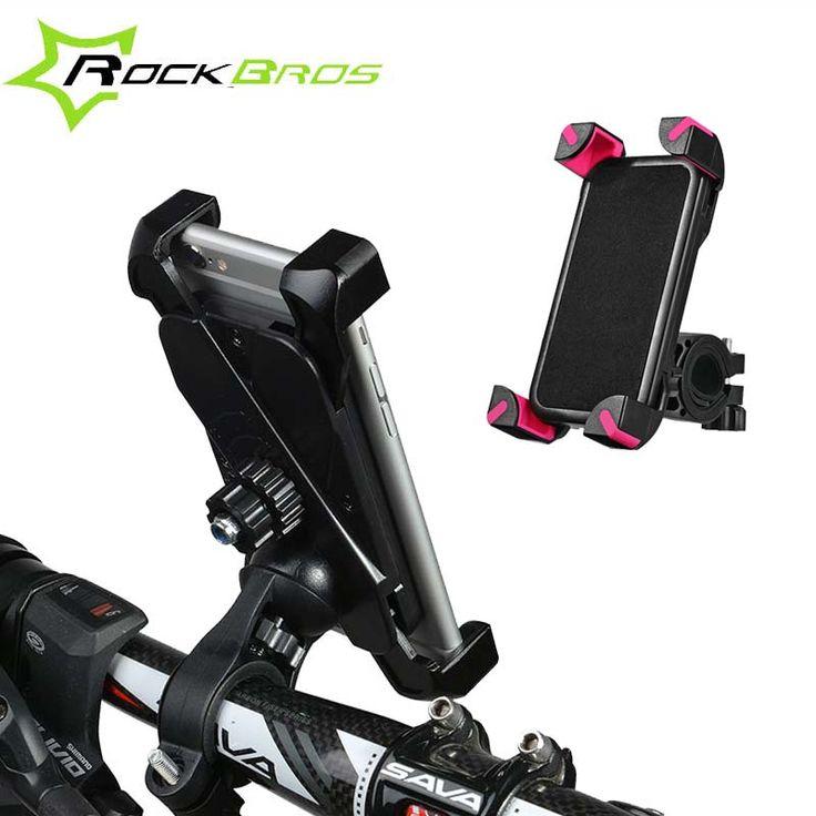 "Rockbros 3.5 ""-7""จักรยานถุงที่ใส่โทรศัพท์มือถือยึดABS MTBจักรยานถนนด้านบนกรอบด้านหน้าH Andlebarโทรศัพท์กระเป๋าตะกร้ายืน"