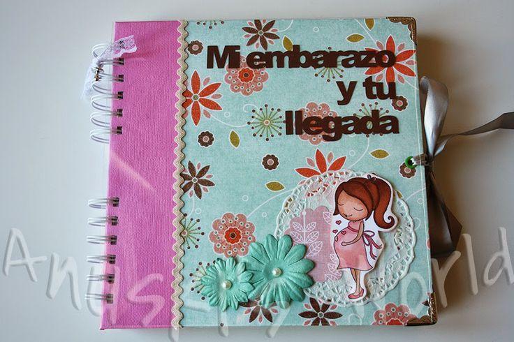 Diario de embarazo y álbum de bebé para Mª Ángeles | Lovely baby ...