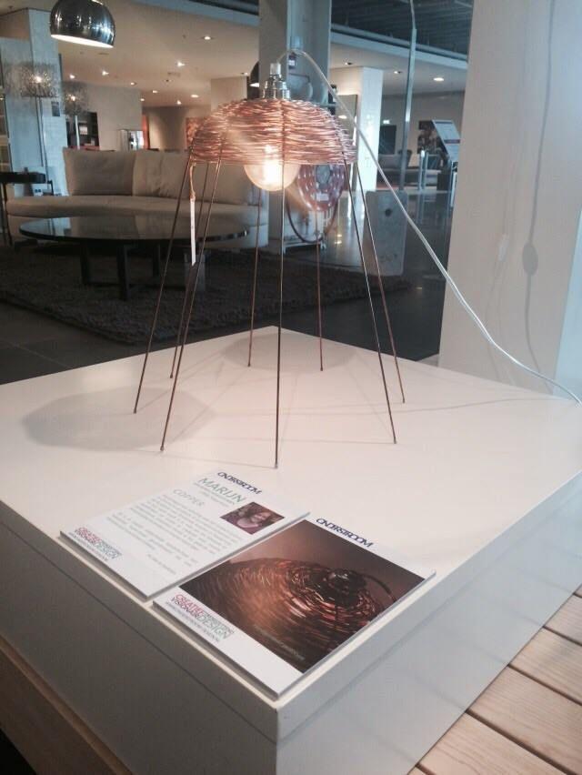 Alweer een 2e succesvol weekend gehad bij Pot Interieur te Axel. Lamp Copper van ontwerpster Marijn van Berge Henegouwen is onder andere in onze speciale expositie te zien. Copper is momenteel te bestellen via onze site!