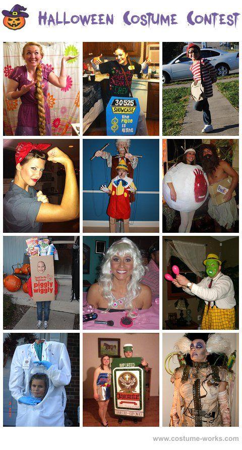 DIY Halloween Costumes - thousands of costume ideas! #halloween #costume #contest