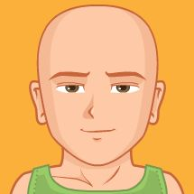 Checkout this avatar created by DomjnMihly via pickaface.net