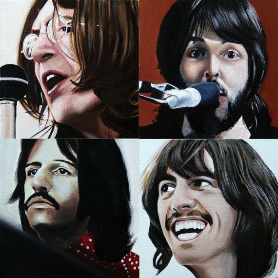 Hungry and fool. The Beatles. by GESArt on Etsy