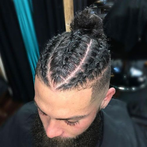 Male French Braids Styles
