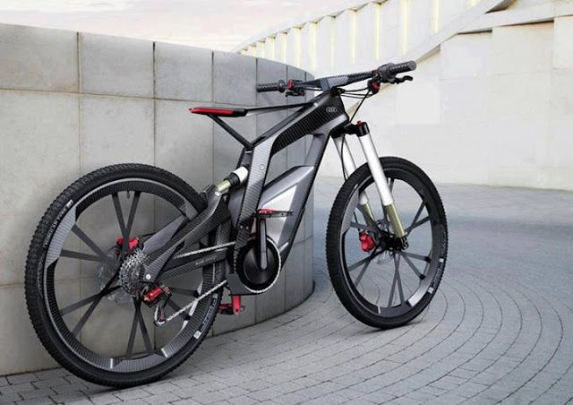 Ideas en foco: E-bike de Audi