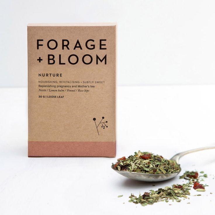 Forage + Bloom Nurture Herbal Infusion. Handmade in New Zealand