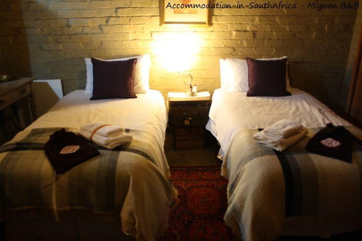 Sasolburg Accommodation. Beautiful rustic accommodation at Mignon's B&B.