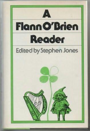 A Flann O'Brien Reader. Stephen Jones, editor. Viking Press, 1977. Cover by Roy Kuhlman. www.roykuhlman.com