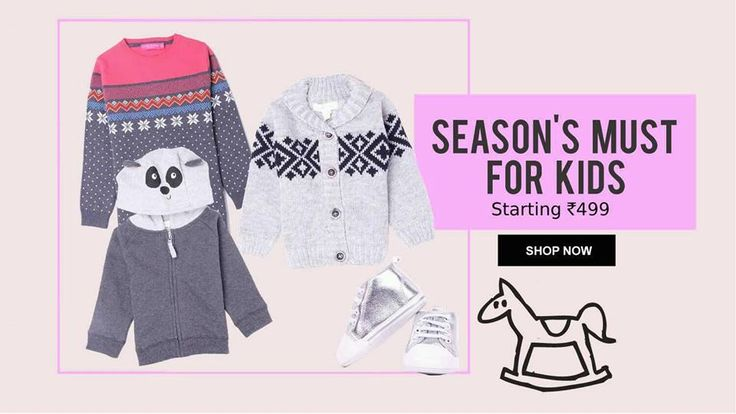 Fashion for the little ones at little prices... Make festive shopping even more fun with KAPKIDS... #Kapkids