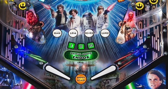 Full Details on Stern Pinball's 40th Anniversary STAR WARS Machines! via @therockfather