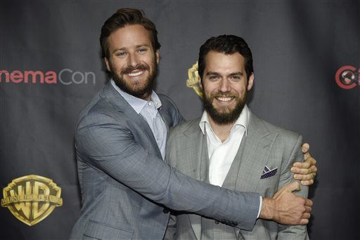 Henry and Armie at CinemaCon 2015