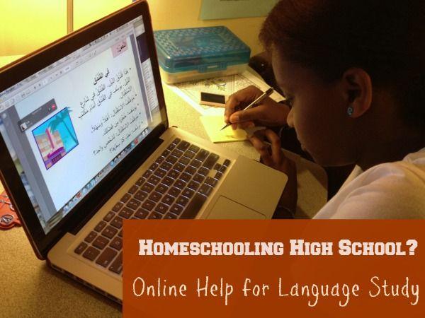 A Help for Homeschooling High School - Online Language Tutors! - @Daniele Manoli @ Domestic Serenity