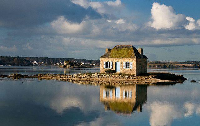 St Cado sur la Rivière d'Etel, Morbihan