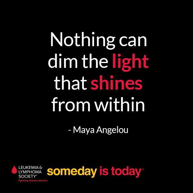 Let your light shine bright! #quote #qotd #SomedayisToday