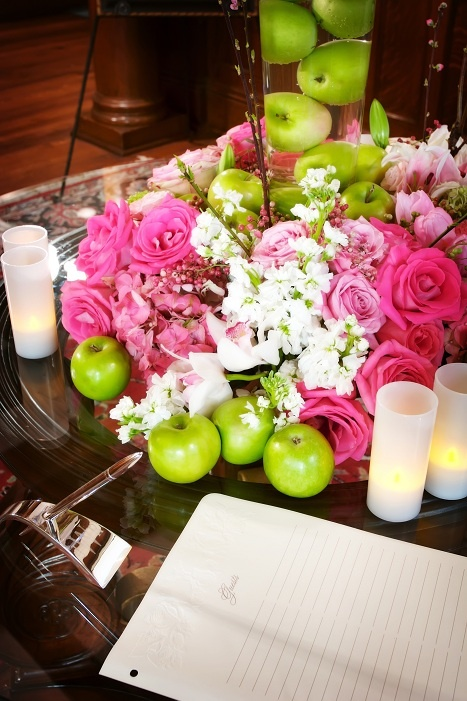 86 best wedding apple green images on pinterest wedding bridal apple green wedding ideas with pink flowers junglespirit Image collections
