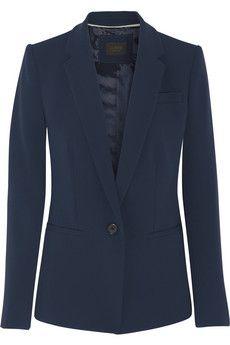 J.Crew Chelsea crepe blazer   NET-A-PORTER