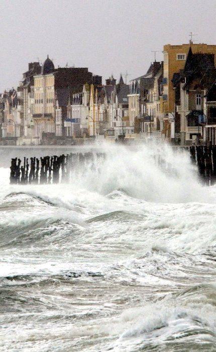 Saint-Malo, tempête février 2014