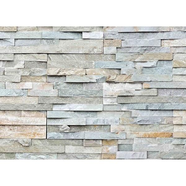 Home Decor Line Grey Stones Peel And Stick Backsplash Wall Decal Cr 67318 The Home Depot In 2021 Stone Backsplash Kitchen Beige Backsplash Stone Backsplash