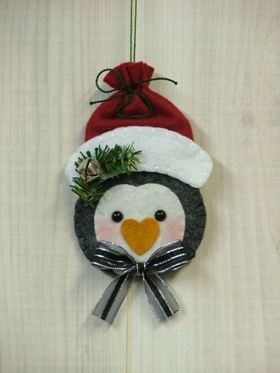 Tree Trimmers Too! : Penquin Gift Card Holder--site is selling the finished bags.