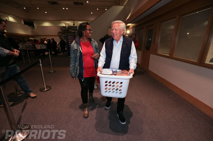 Patriots owner Robert Kraft and more than a dozen current and former New England Patriots players, including Devin McCourty,