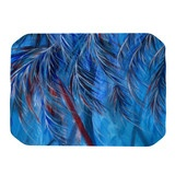 """Rosie Brown """"Red White Tropical"""" Place Mat  #placemat #kitchen #table #decor #palms #trees #nature #tropical #florida #vacation #design"""