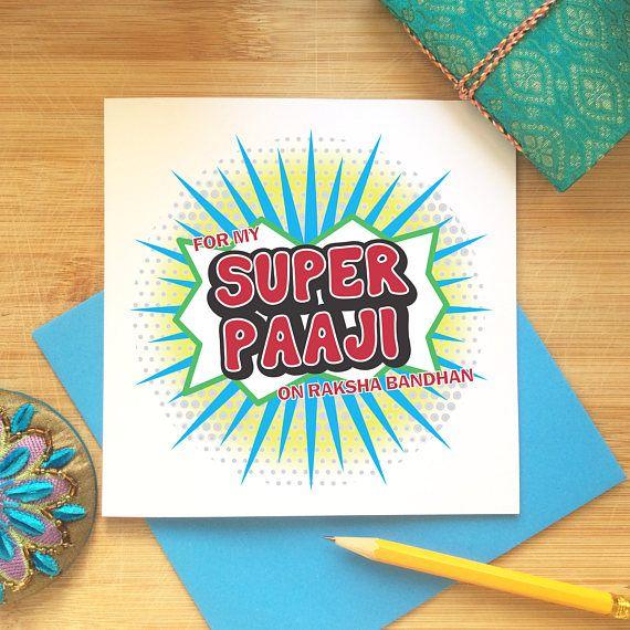 Raksha Bandhan Card for Paaji  Rakhi Greetings Brother
