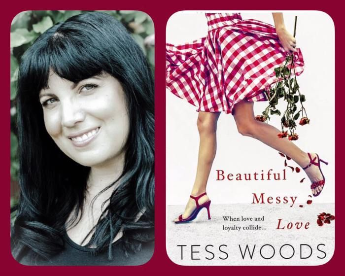 Cover Reveal: Beautiful Messy Love by Tess Woods @TessWoodsAuthor