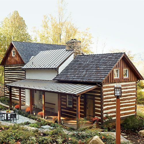 8 best cabin restoration images on pinterest log homes for Log cabin restoration