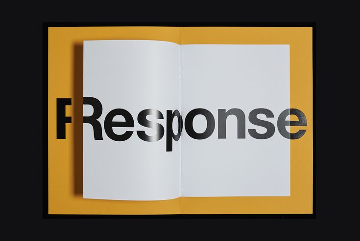 Response, a brochure designed by Studio Hi Ho for Fitzroy development Whitlam Place