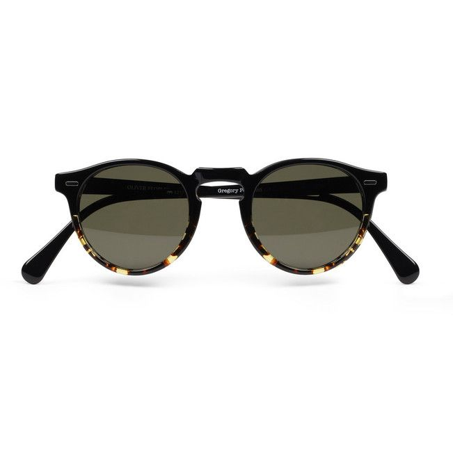 Gregory Peck Polarised Sunglasses by Oliver Peoples