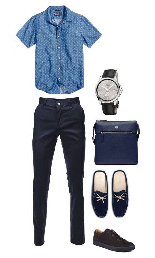 """Для мужа 2"" by sati-o on Polyvore featuring American Rag Cie, Lanvin, Frette, Gucci, MCM, men's fashion и menswear"