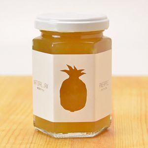無添加ジャム パイナップル150g|無農薬栽培のパイナップルを使用した貴重なジャム!ペクチン、クエン酸など一切不使用農薬・化学肥料不使用栽培 (スナックパイン・ピーチパイン)、 有機きび砂糖(ブラジル産)、 農薬・化学肥料不使用栽培レモン
