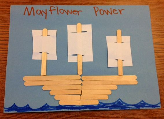 Mayflower craft! | http://homemadespeech.com/
