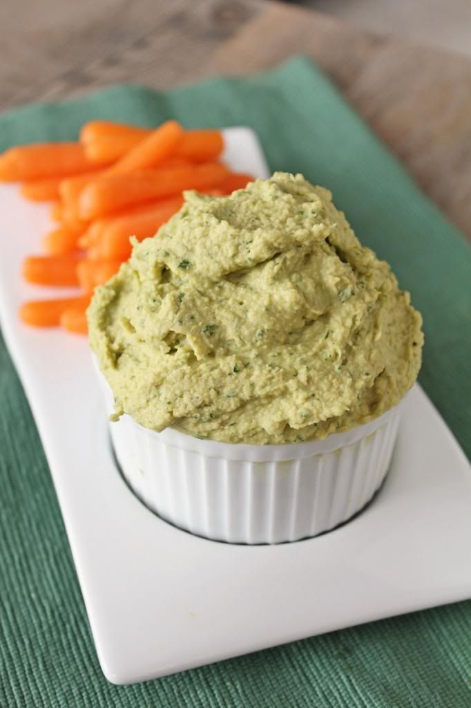 Cheezy Ranch Hummus | Vegan | Pinterest