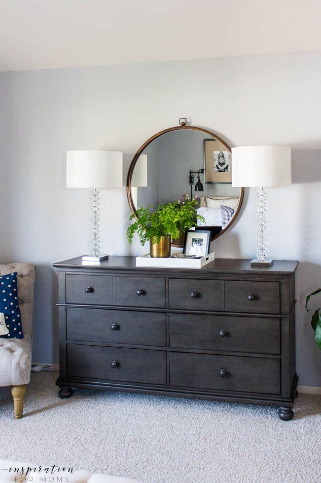 Spring Master Bedroom Refresh | Bedroom black, Home decor ...