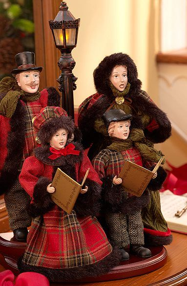 Qvc Christmas Carolers