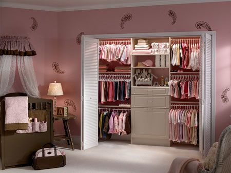 Bi-fold wardrobe doors for the boys room