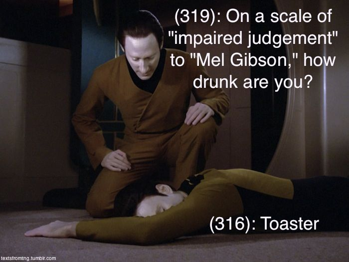 Star Trek the Next Generation Texts From Last Night Tumblr | The Mary Sue